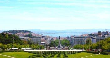 Parque Eduardo VII viewpoint