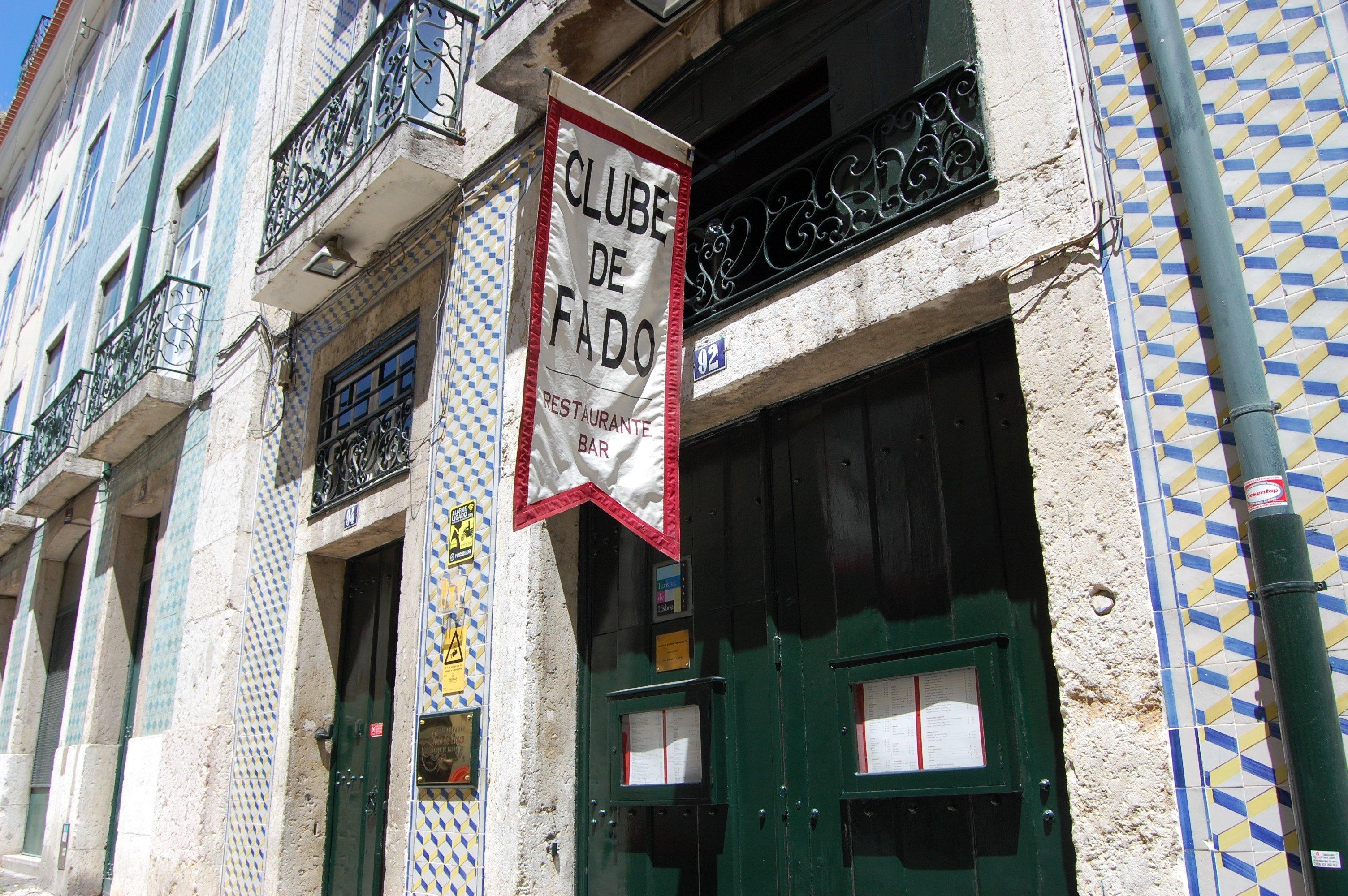 Clube de Fado in Alfama