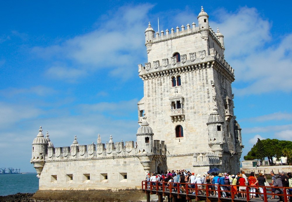 Drawbridge at the Tower of Belém