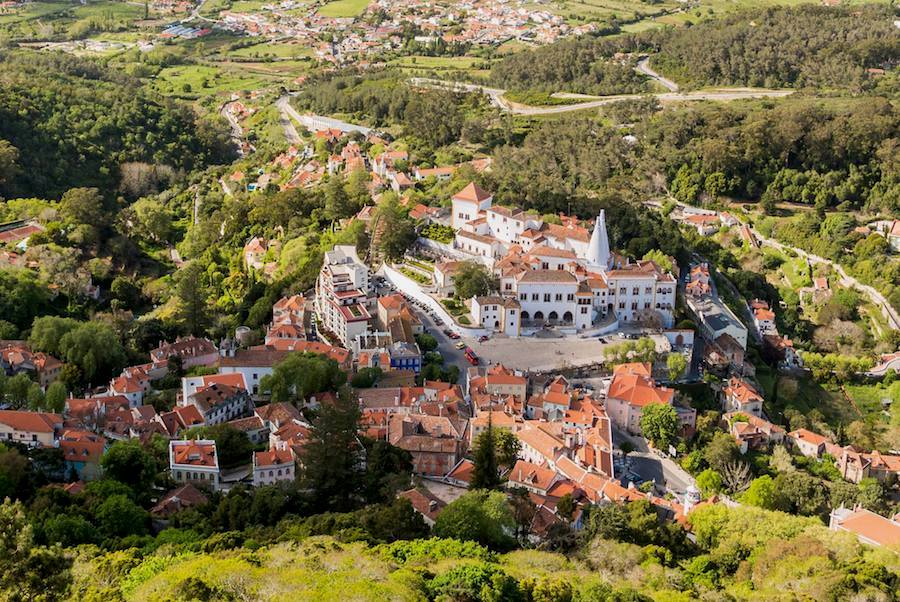 Village of Sintra and the National Palace