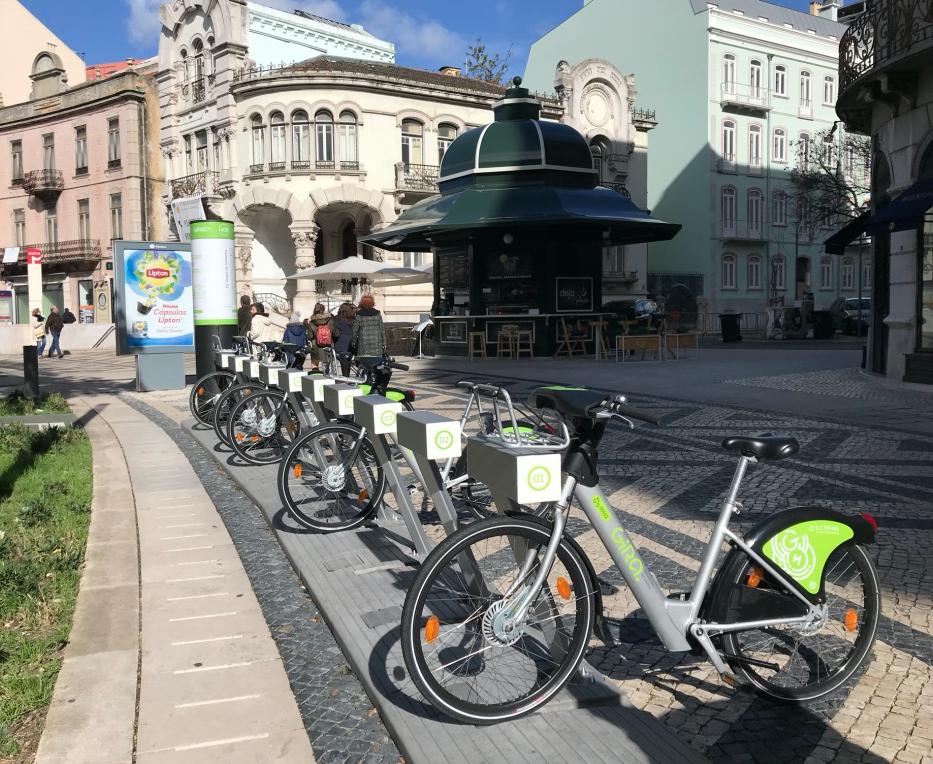 Lisbon's Bike Hire System - How it Works
