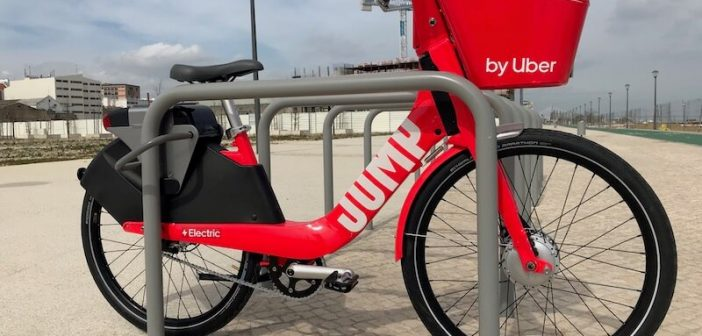 Uber Launches Jump Bikes in Lisbon
